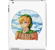 Skyward Sword Link : Hero of Skyloft iPad Case/Skin