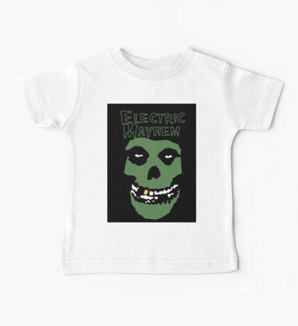 Electric Mayhem Parody Logo Baby Tee