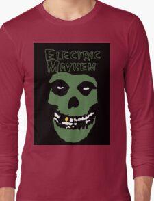 Electric Mayhem Parody Logo Long Sleeve T-Shirt