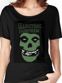 Electric Mayhem Parody Logo Women's Relaxed Fit T-Shirt