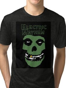 Electric Mayhem Parody Logo Tri-blend T-Shirt