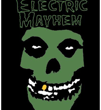 Electric Mayhem Parody Logo Sticker