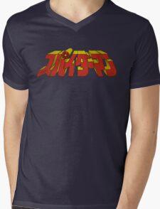 Retro Japanese Supaidaman スパイダーマン Mens V-Neck T-Shirt