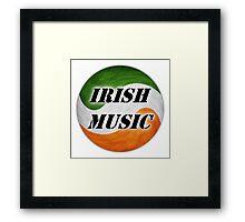 Cool Irish Music Framed Print