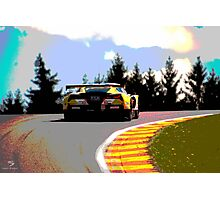 Corvette at the top.. Photographic Print
