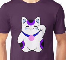 Purple Lucky Cat Unisex T-Shirt