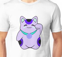 Blueberry Maneki Neko Unisex T-Shirt