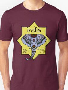 Majestic Elephant - Red Unisex T-Shirt