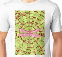 Dragon on glass acid Unisex T-Shirt