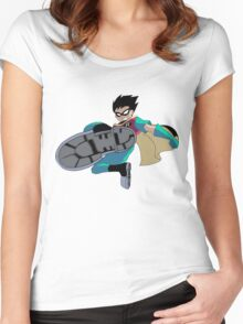 Teen Titans Robin Women's Fitted Scoop T-Shirt