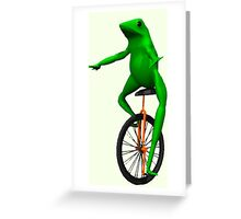 Dat Boi Greeting Card