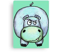 Harry the Hippo Canvas Print