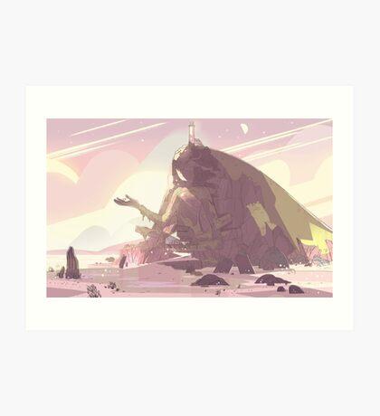 Crystal Temple - Steven Universe! Art Print