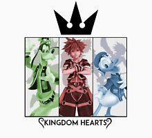 Kingdom Hearts: Rule of Three Unisex T-Shirt