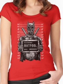 The Batpool Women's Fitted Scoop T-Shirt