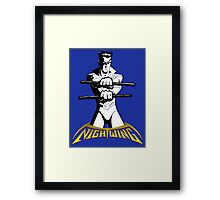 Nightwing Framed Print