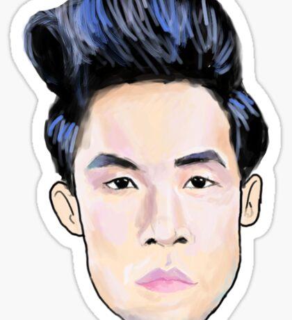Pastel Eugene Head Sticker
