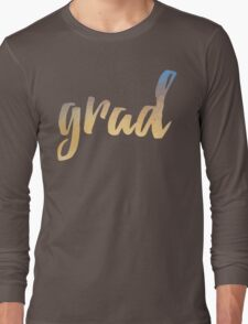 Grad | yellow brush type Long Sleeve T-Shirt