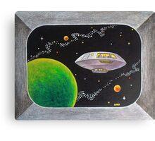 JUPITER 2 T.V. Canvas Print