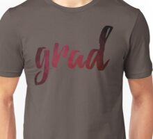 Grad | purple brush type Unisex T-Shirt