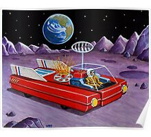 MOON ROVER Poster