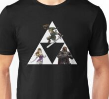 Link, Zelda, and Ganondorf Unisex T-Shirt