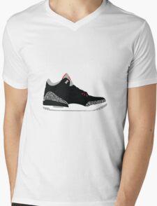 Black III (3) Mens V-Neck T-Shirt