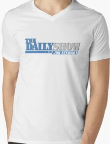 The Daily Show with Jon Stewart Mens V-Neck T-Shirt