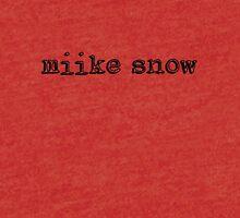 Miike Snow Tri-blend T-Shirt