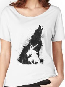 The walker of abyss VERSION BLACK Women's Relaxed Fit T-Shirt