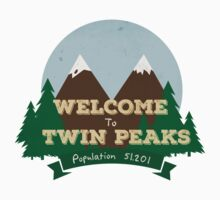 Welcome to Twin Peaks Kids Tee
