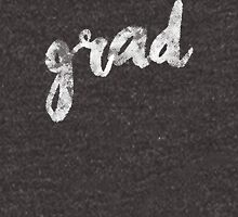 Grad | white brush lettering Unisex T-Shirt