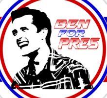 Ben for President Sticker