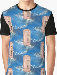 pink phone booth Graphic T-Shirt
