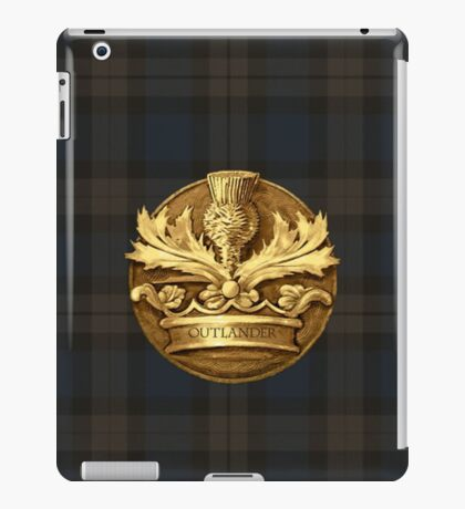 Outlander plaid and Thistle.  iPad Case/Skin