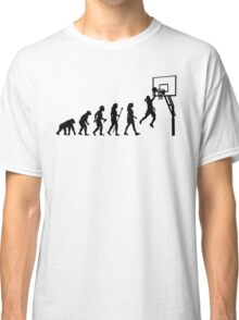 Funny Women's Basketball Evolution Classic T-Shirt
