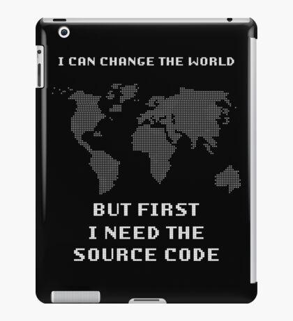 Source Code iPad Case/Skin