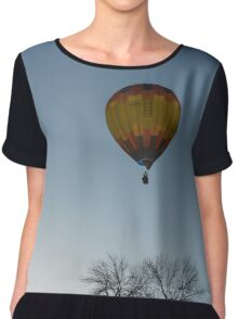 Hot Air Balloon Ride Chiffon Top