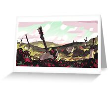 Strawberry Battlefield - Steven Universe! Greeting Card