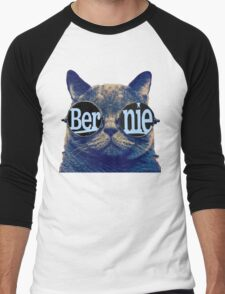 Bernie more purr Men's Baseball ¾ T-Shirt