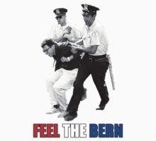 Feel the BERN Bernie Sanders Arrested Kids Tee