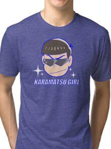 Karamatsu Girl Tri-blend T-Shirt