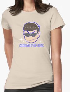 Karamatsu Girl Womens Fitted T-Shirt