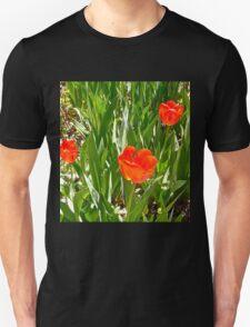 Red Tulips Unisex T-Shirt