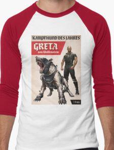 Greta von Wolfenstein Men's Baseball ¾ T-Shirt