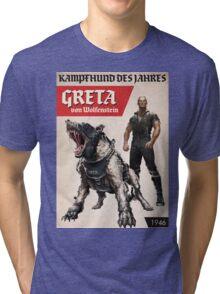 Greta von Wolfenstein Tri-blend T-Shirt