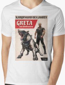 Greta von Wolfenstein Mens V-Neck T-Shirt