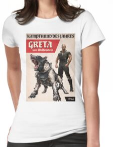 Greta von Wolfenstein Womens Fitted T-Shirt