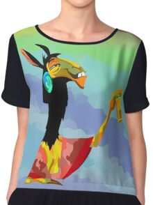 The poison for Kuzco Chiffon Top