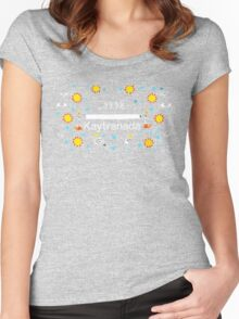 KAYTRANADA 99.9% Women's Fitted Scoop T-Shirt